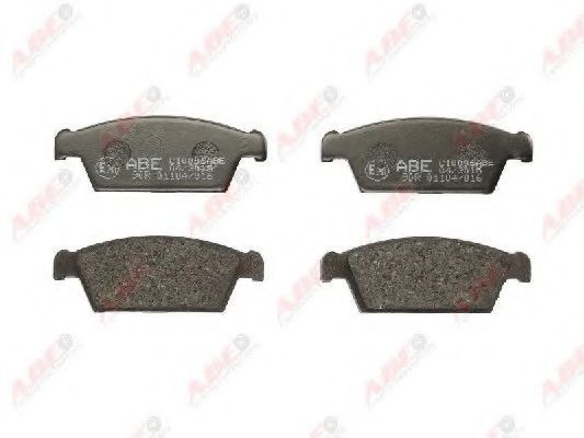 Колодки тормозные ABE C10006ABE