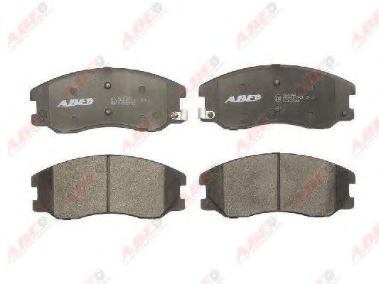 Колодки тормозные ABE C10020ABE