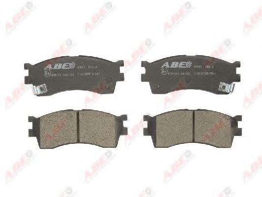 Колодки тормозные ABE C10303ABE