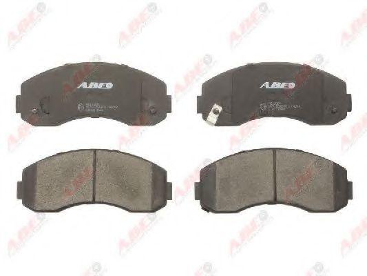 Колодки тормозные ABE C10311ABE