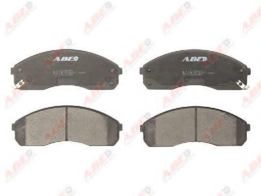 Колодки тормозные ABE C10316ABE