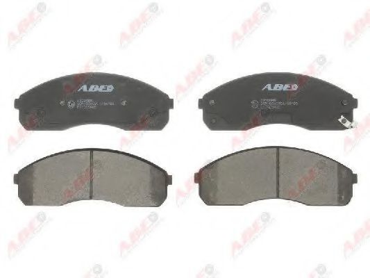 Колодки тормозные ABE C10325ABE