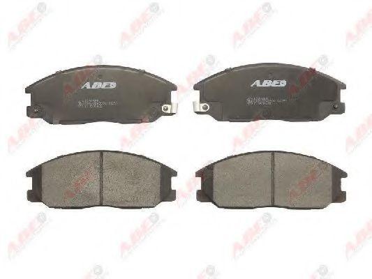 Колодки тормозные ABE C10509ABE