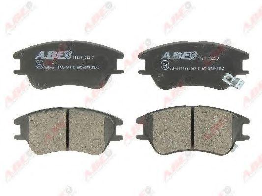 Колодки тормозные ABE C10520ABE