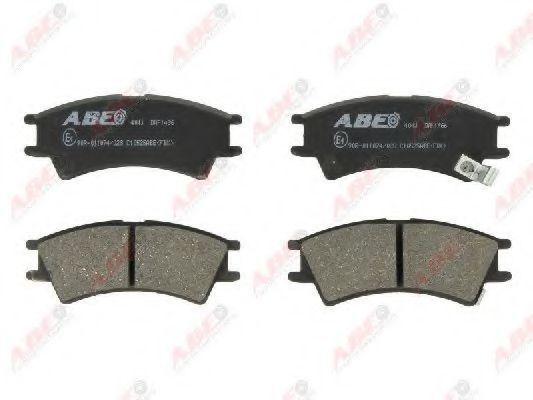 Колодки тормозные ABE C10525ABE