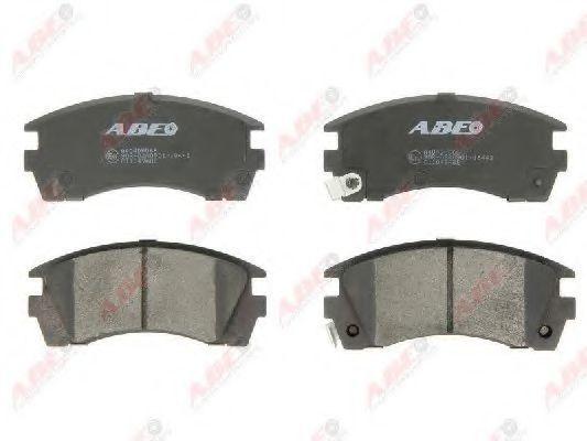 Колодки тормозные ABE C11049ABE