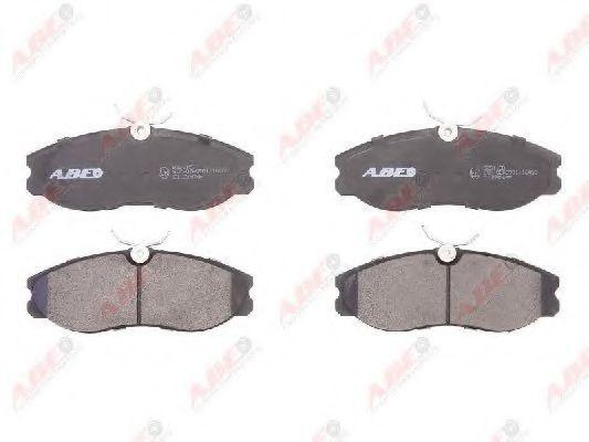 Колодки тормозные ABE C11056ABE