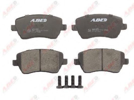 Колодки тормозные ABE C11077ABE