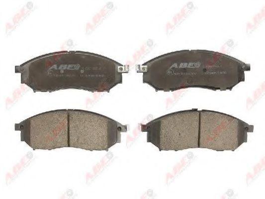 Колодки тормозные ABE C11078ABE