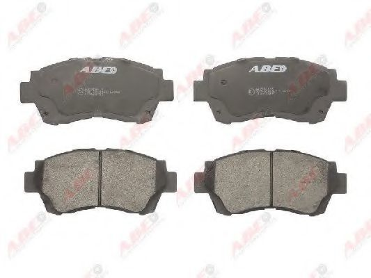 Колодки тормозные дисковые ABE C12060ABE