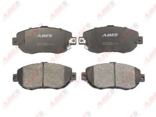 Колодки тормозные ABE C12072ABE