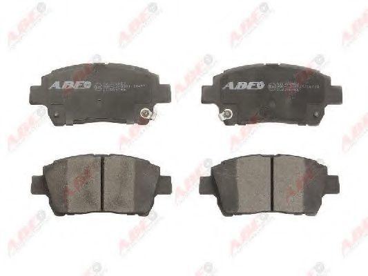 Колодки тормозные ABE C12086ABE