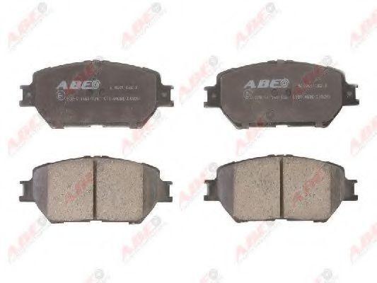 Колодки тормозные ABE C12104ABE