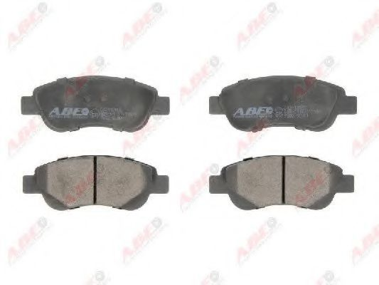 Колодки тормозные ABE C12112ABE