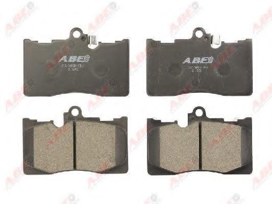 Колодки тормозные ABE C12116ABE