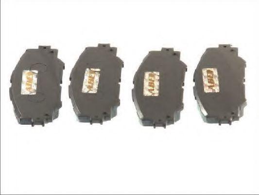 Колодки тормозные передние ABE C12122ABE