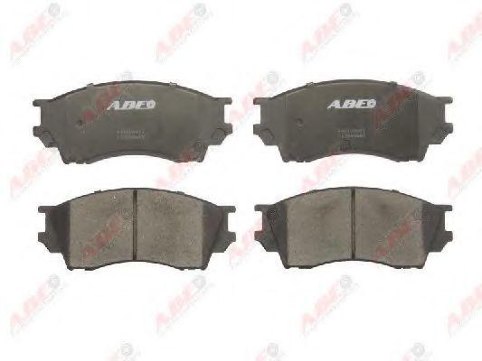 Колодки тормозные ABE C13040ABE