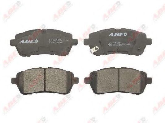 Колодки тормозные ABE C13063ABE