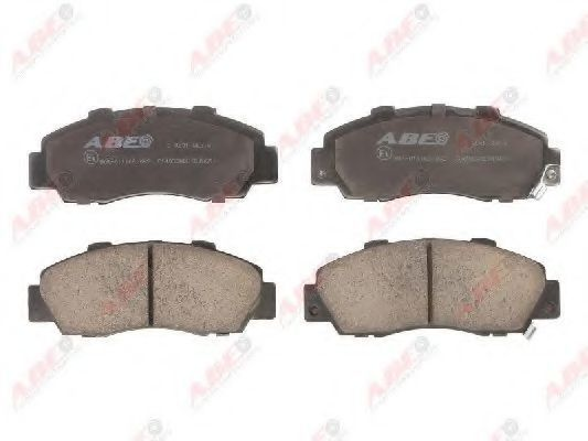 Колодки тормозные ABE C14032ABE
