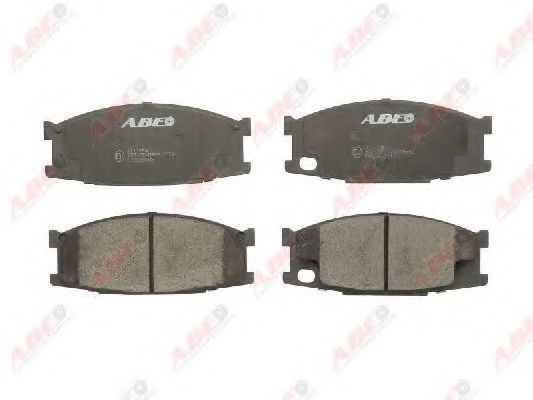 Колодки тормозные ABE C15038ABE