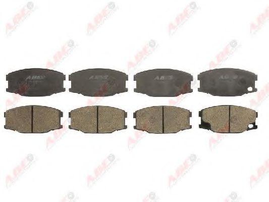 Колодки тормозные передние/задние ABE C15039ABE