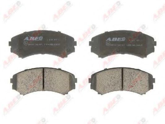 Колодки тормозные ABE C15040ABE