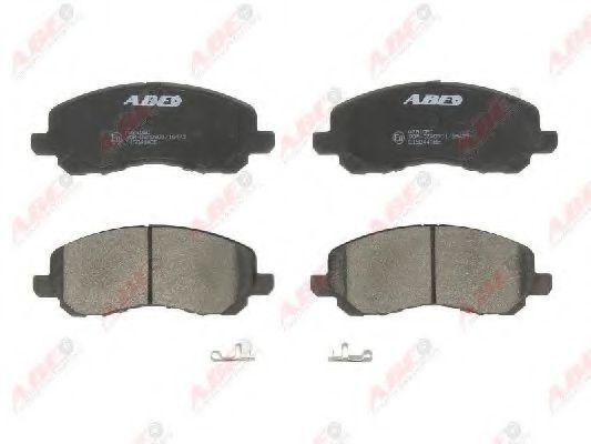 Колодки тормозные ABE C15044ABE