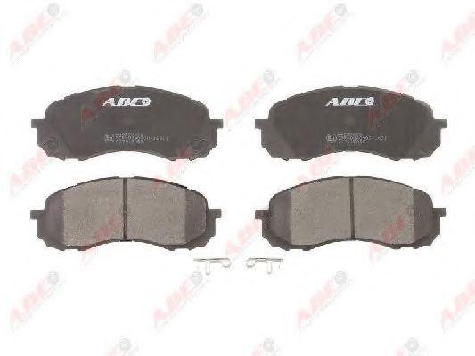 Колодки тормозные передние ABE C17015ABE