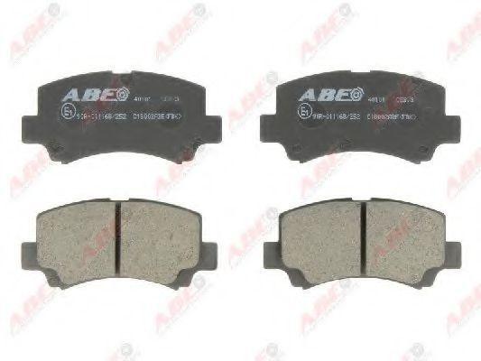 Колодки тормозные ABE C18002ABE