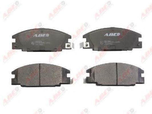 Колодки тормозные ABE C19004ABE