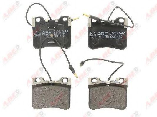 Колодки тормозные ABE C1C016ABE
