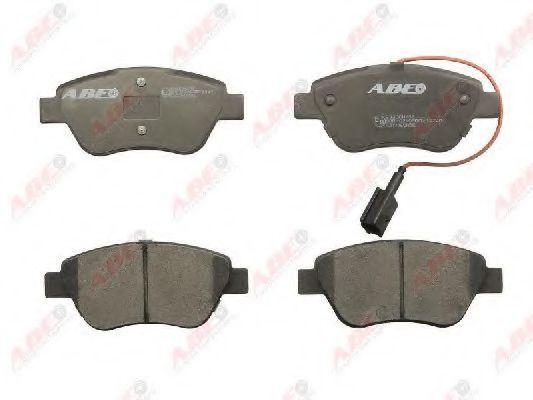 Колодки тормозные ABE C1C060ABE
