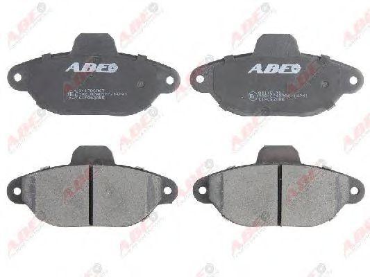 Колодки тормозные ABE C1F062ABE