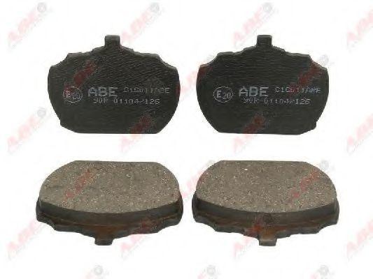 Колодки тормозные ABE C1G011ABE