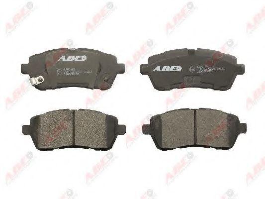 Колодки тормозные ABE C1G062ABE