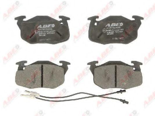 Колодки тормозные ABE C1P005ABE