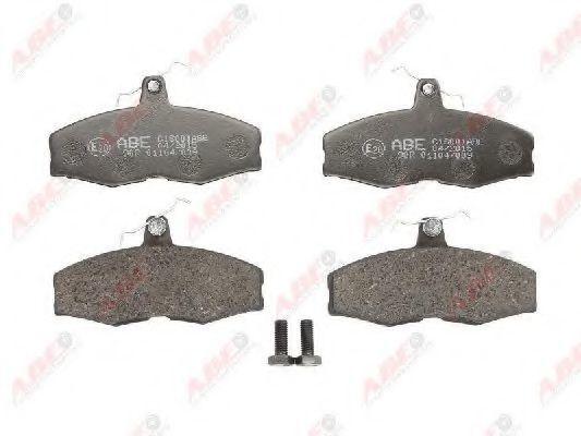 Колодки тормозные ABE C1S001ABE
