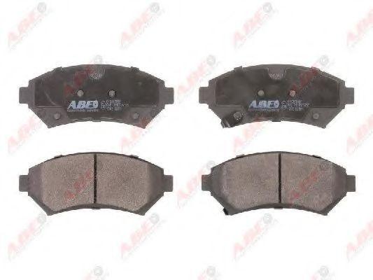 Колодки тормозные ABE C1X017ABE
