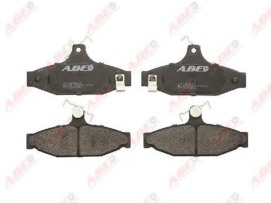 Колодки тормозные ABE C20003ABE