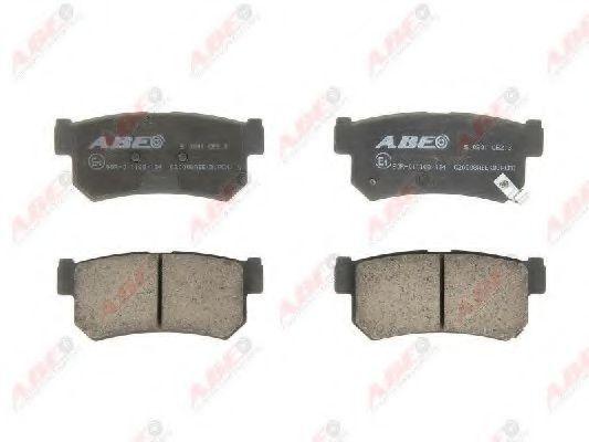 Колодки тормозные ABE C20008ABE