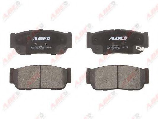 Колодки тормозные ABE C20010ABE