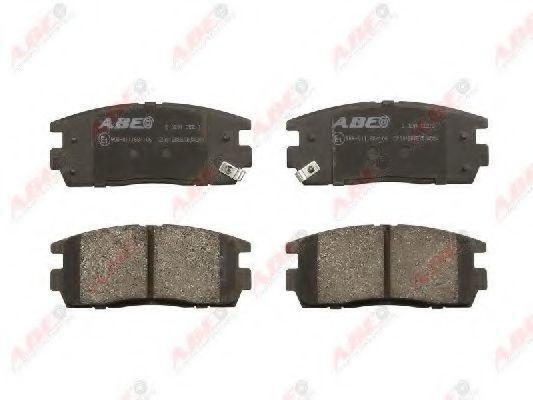 Колодки тормозные ABE C20012ABE
