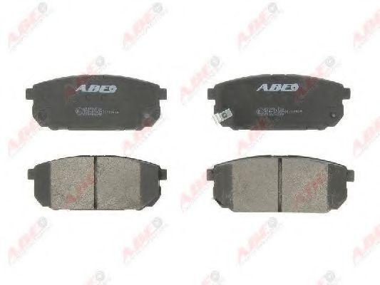 Колодки тормозные ABE C20304ABE