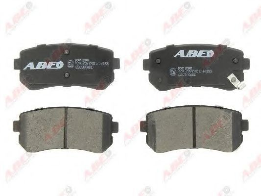 Колодки тормозные ABE C20308ABE