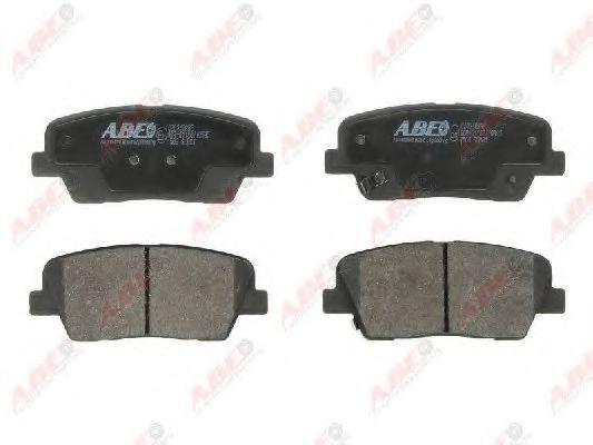 Колодки тормозные ABE C20316ABE