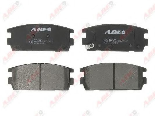 Колодки тормозные ABE C20506ABE