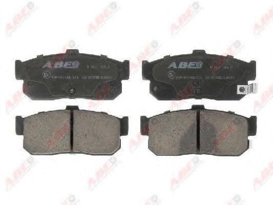 Колодки тормозные ABE C21030ABE