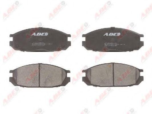 Колодки тормозные ABE C21032ABE