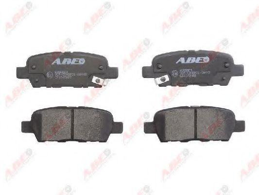 Колодки тормозные ABE C21042ABE
