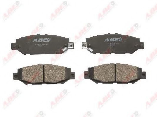 Колодки тормозные ABE C22016ABE